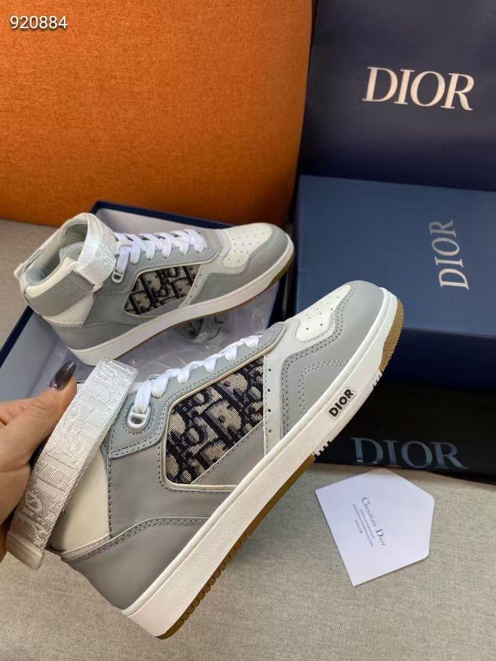 Dior Женские кроссовки черные серые