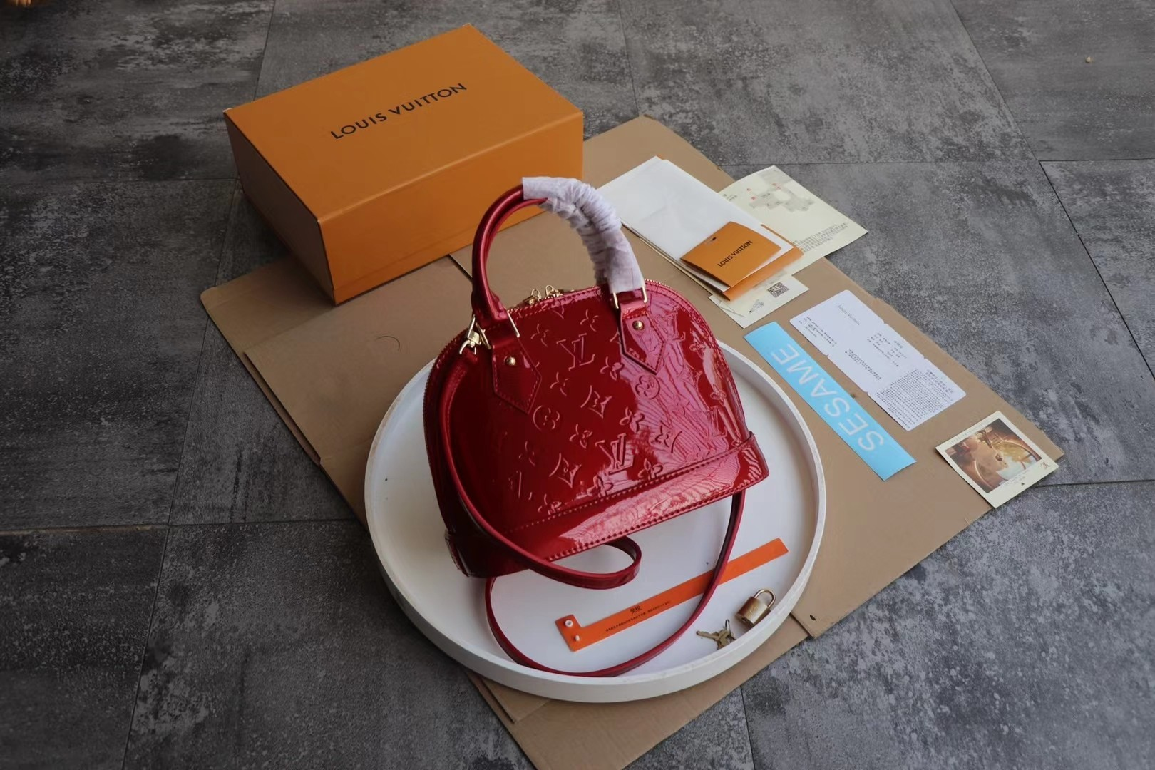 Louis Vuitton Сумка Alma BB M91606