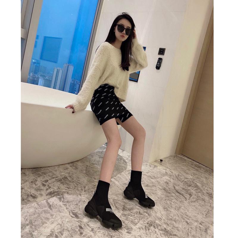 Dior Ботинки женские с носком