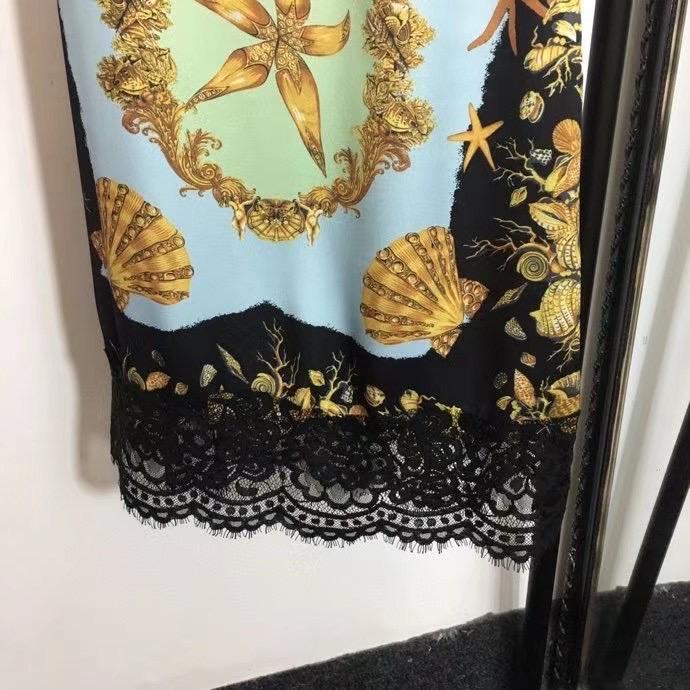 Versace Кружевное платье