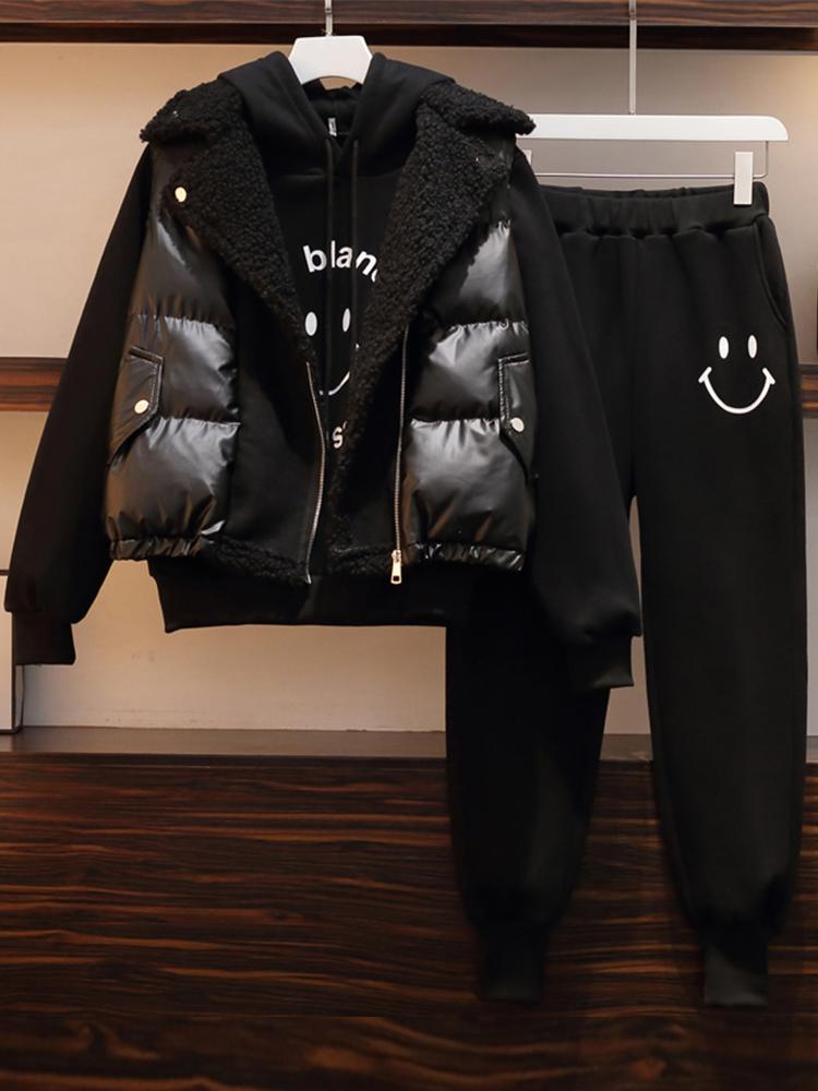 UkrFashion Костюм женский, жилетка + свитер + штаны