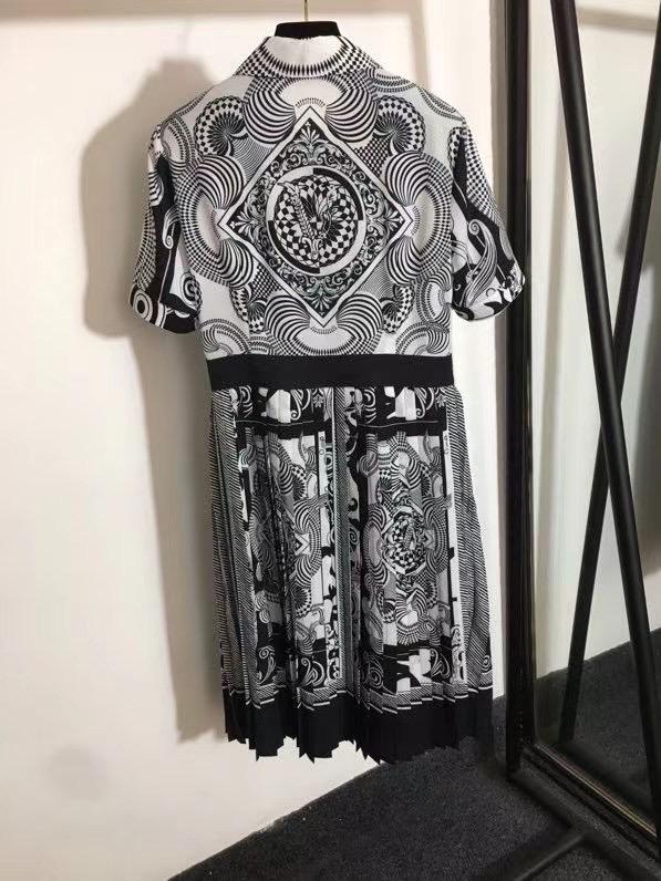 Hermes Платье с короткими рукавами