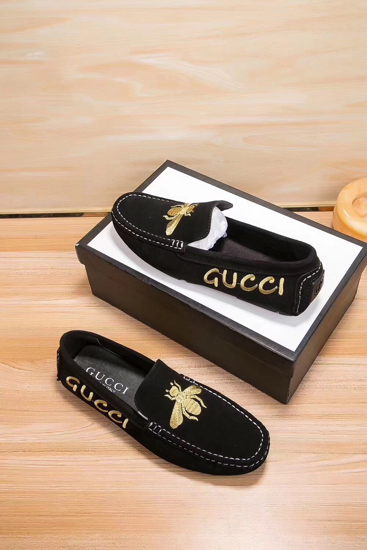 Gucci Черные замшевые туфли
