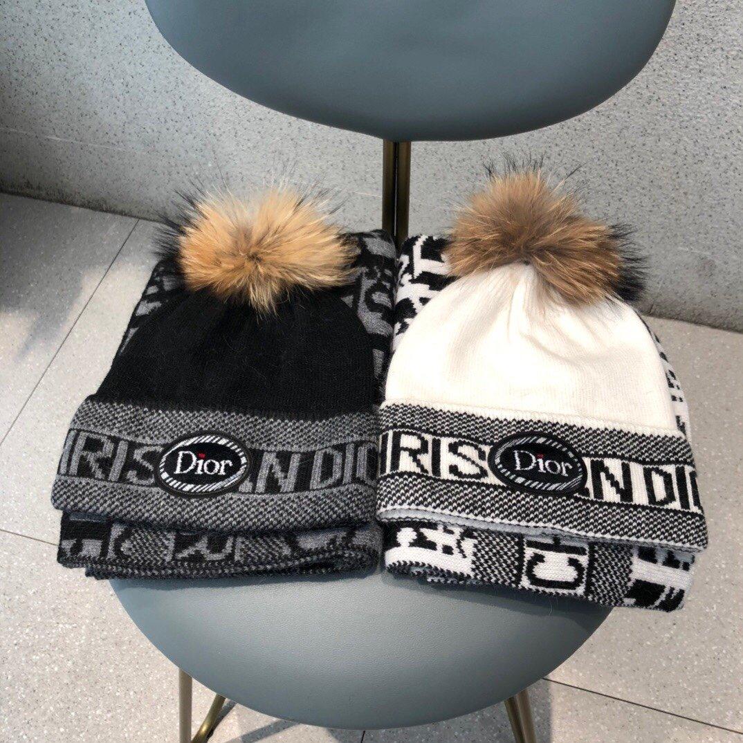 Dior Шапка шарф