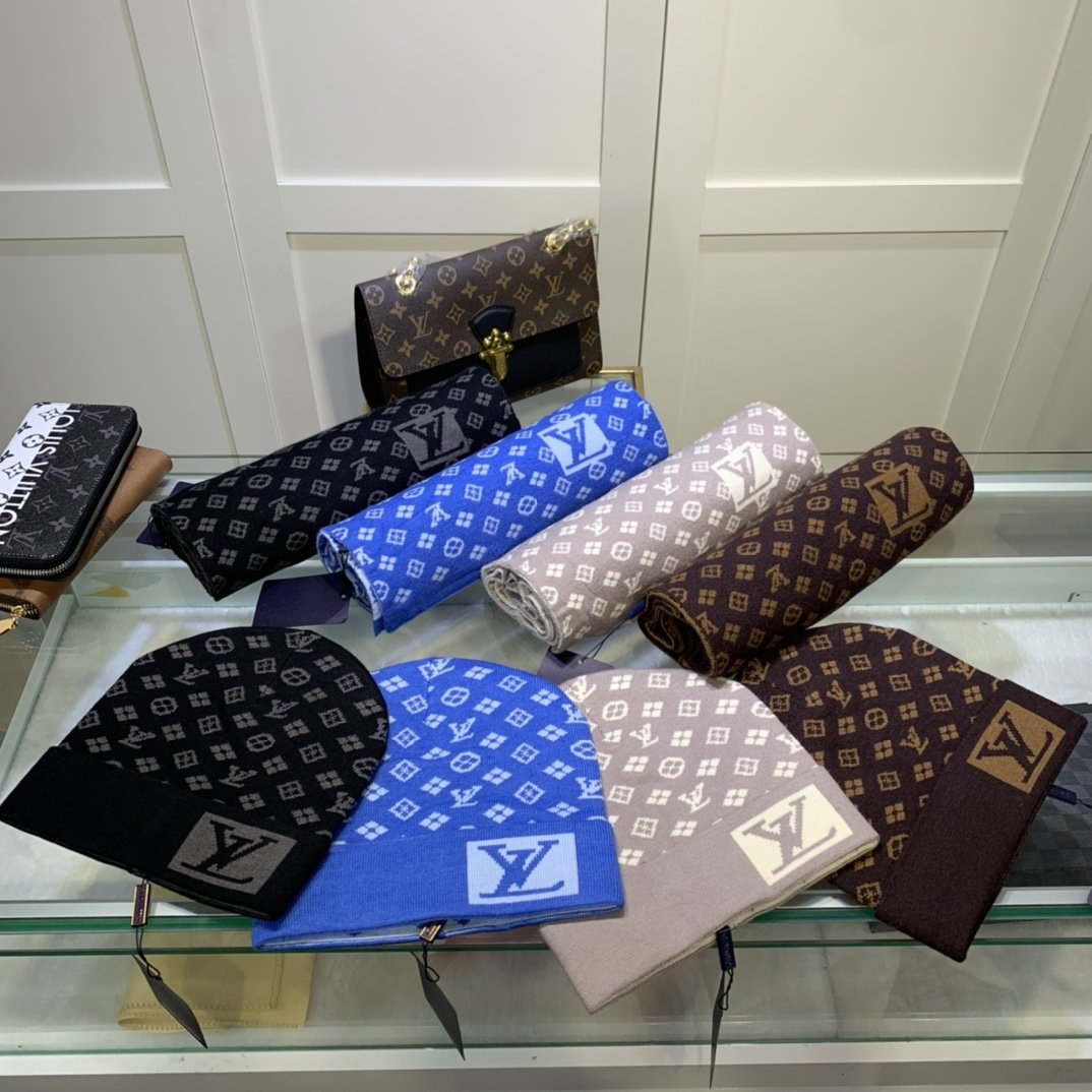 Louis Vuitton Шапка шарф